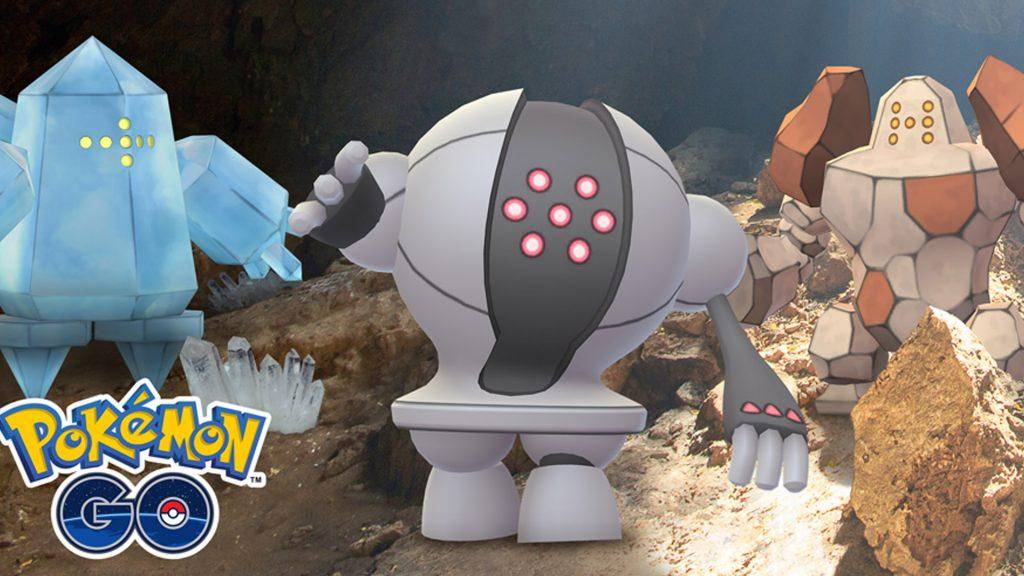 Pokémon GO Regi Trio Titel