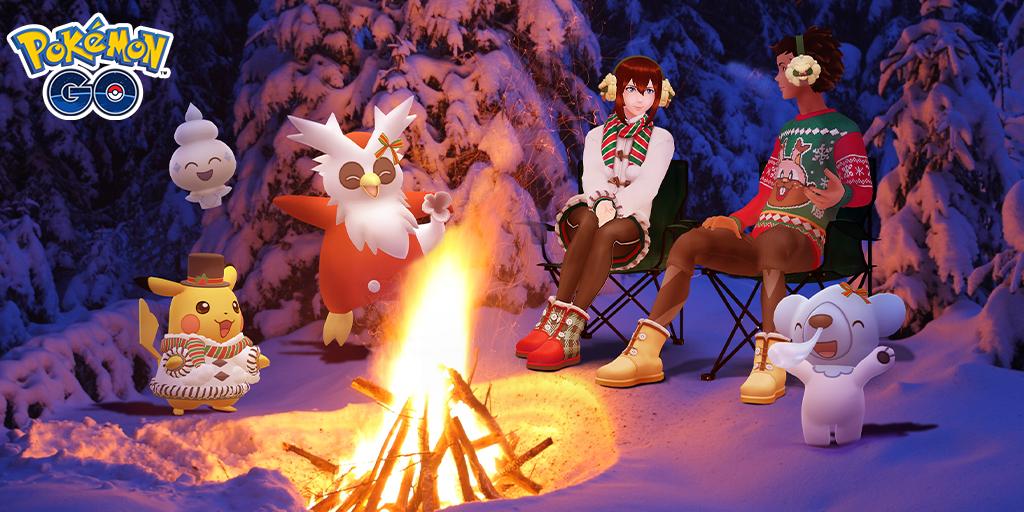 Pokémon GO Weihnachten2020
