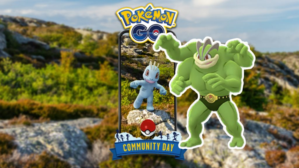 Community Day Machollo Pokemon GO