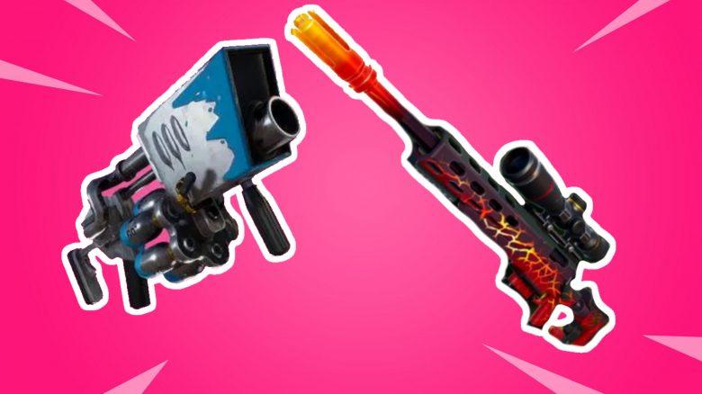 Fortnite: Hier findet ihr die neuen Waffen Big Chill und Dragon's Breath