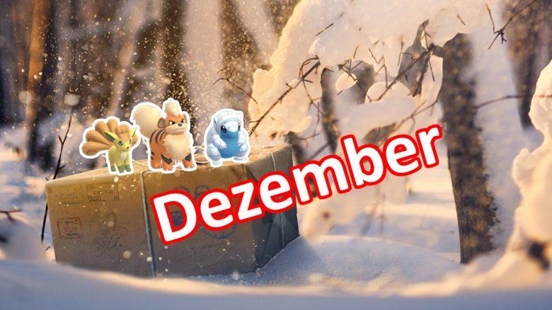 Feldforschungen Dezember Pokemon GO