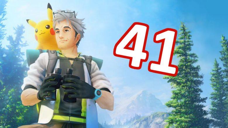 Level 41 Pokemon GO