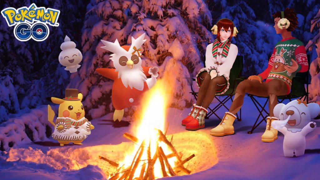 Weihnachtsevent Pokemon GO 2020