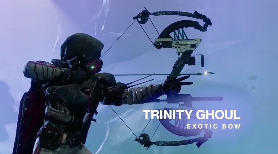 Trinity Dreifaltigkeit Ghaul Bogen Destiny 2 Exotic
