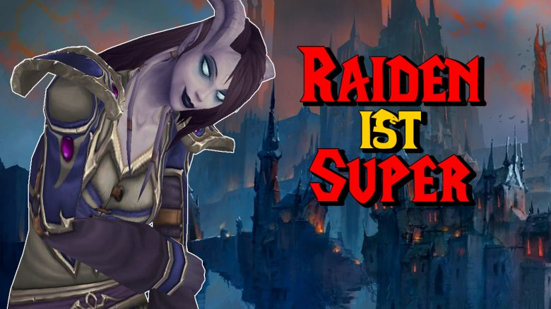 WoW Draenei Raiden ist super titel title 1280x720