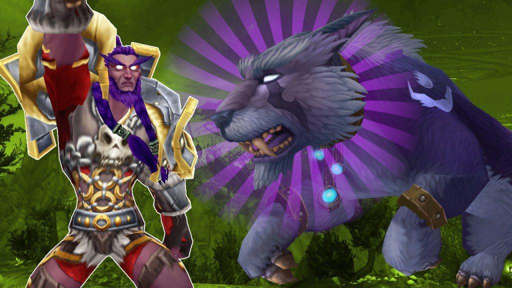 WoW Hunter Taming Druid titel title 1280x720