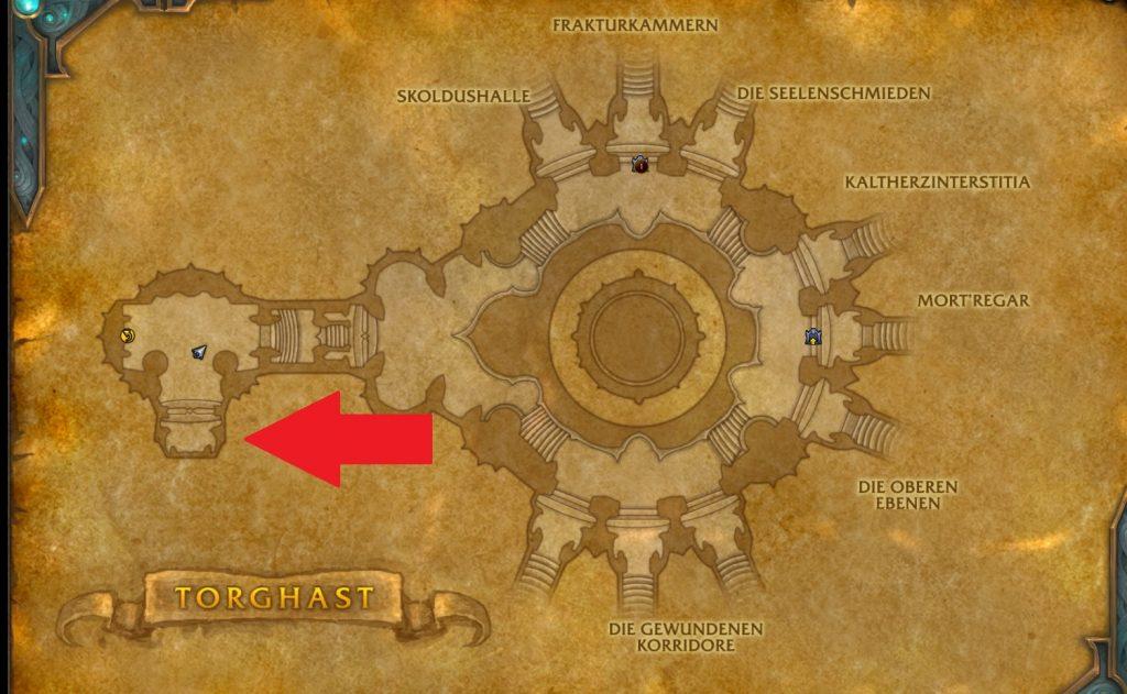 WoW Legendary Guide Rune Carver Chamber