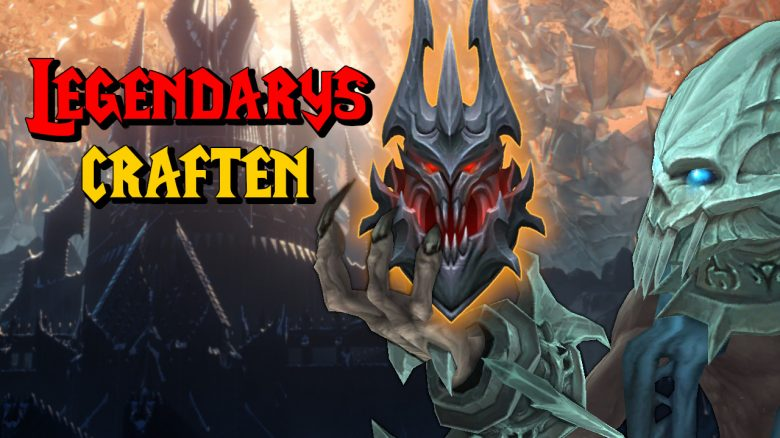 WoW Legendary craften titel title 1280x720