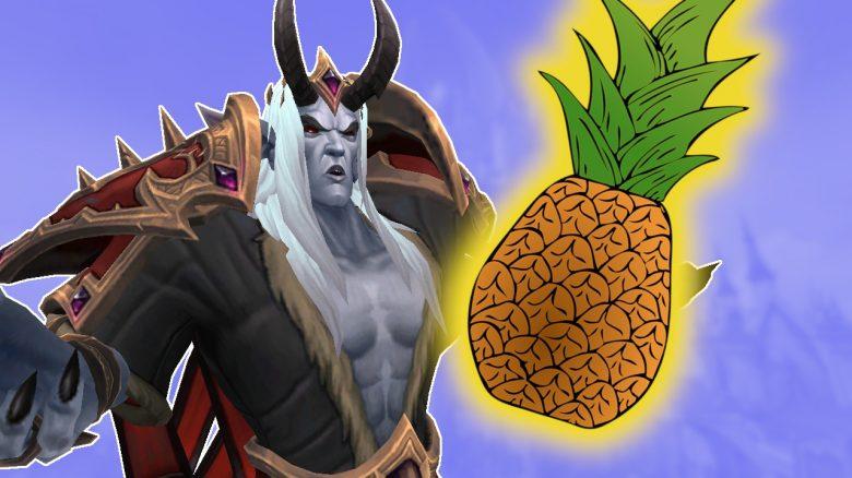 Eine Ananas bringt euch bei, wie ihr den 1. Raid in WoW Shadowlands schafft