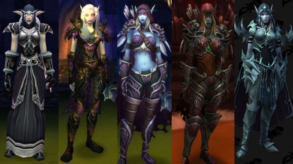 WoW Sylvanas All Models