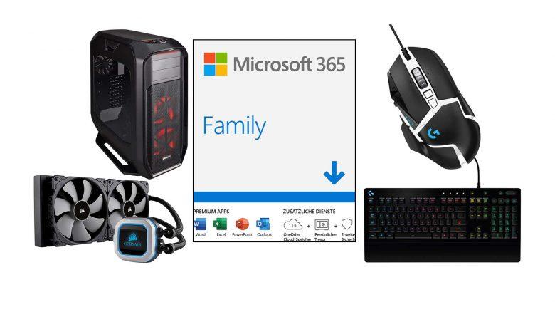 Amazon Angebote: 1 Jahr Office 365 & Gaming-PC Hardware günstiger