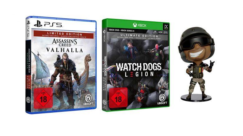 Top-Angebote bei Amazon mit Watch Dogs Legion & AC: Valhalla