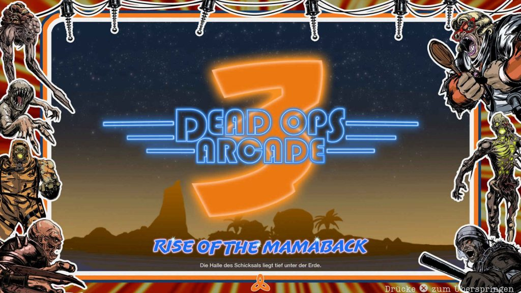 cod cold war modus dead ops arcade startbildschrim