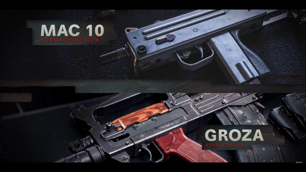 cod cold war warzone battle pass season 1 mac-10 groza