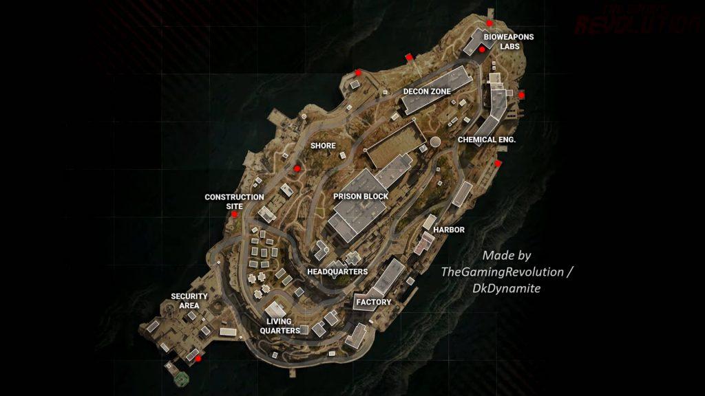 cod warzone rebirth island easter egg red room koffer locations komplett