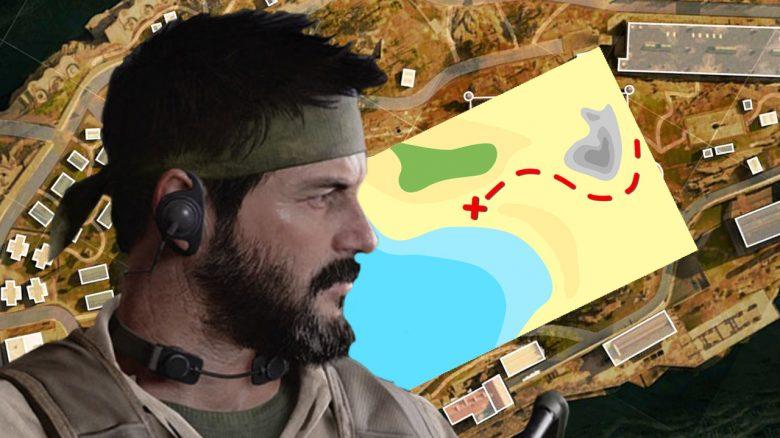 CoD Warzone: Easter Egg auf Rebirth Island schenkt euch Waffen-Bauplan – So geht's