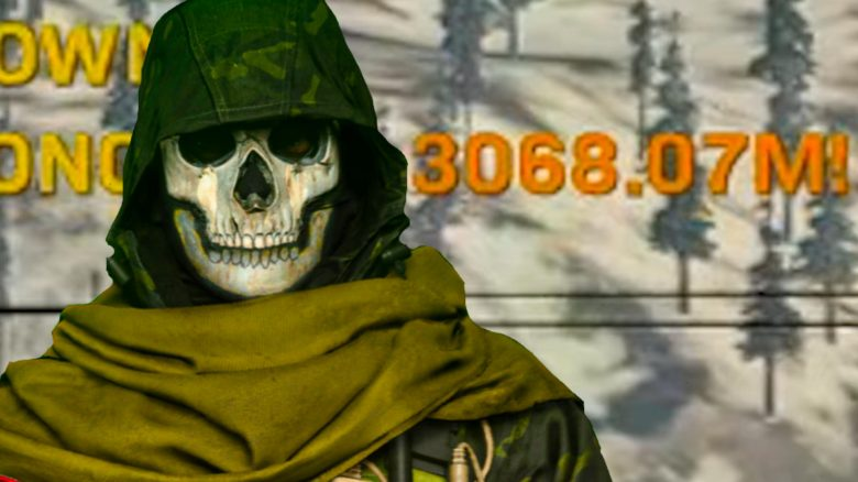 cod warzone rekord sniper kill titel