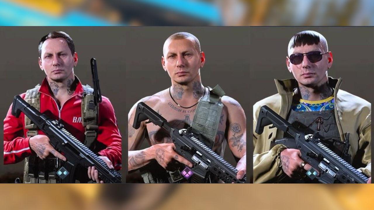 cod warzone yegor skins komplett