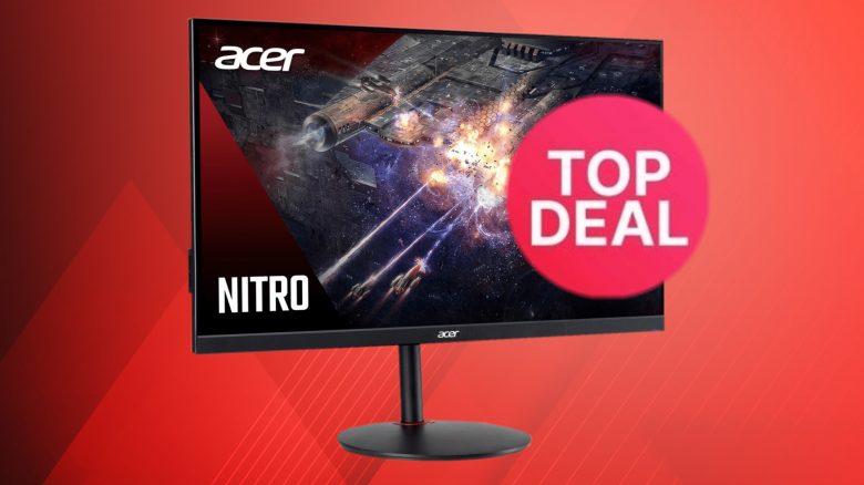 Günstiger Acer Gaming-Monitor mit 165 Hz & HDR zum Bestpreis bei eBay