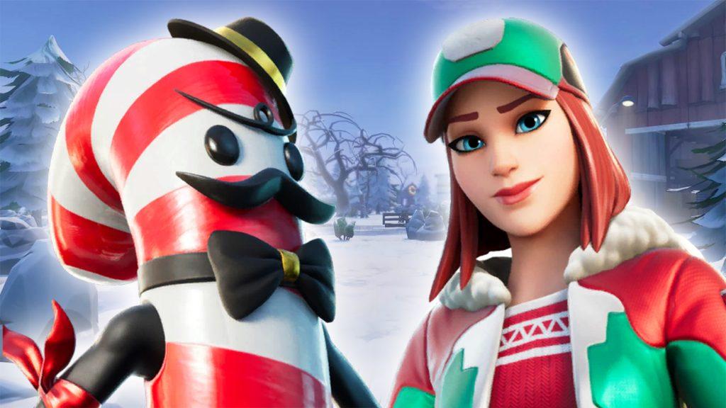 fortnite geleakte weihnachtsskins titel