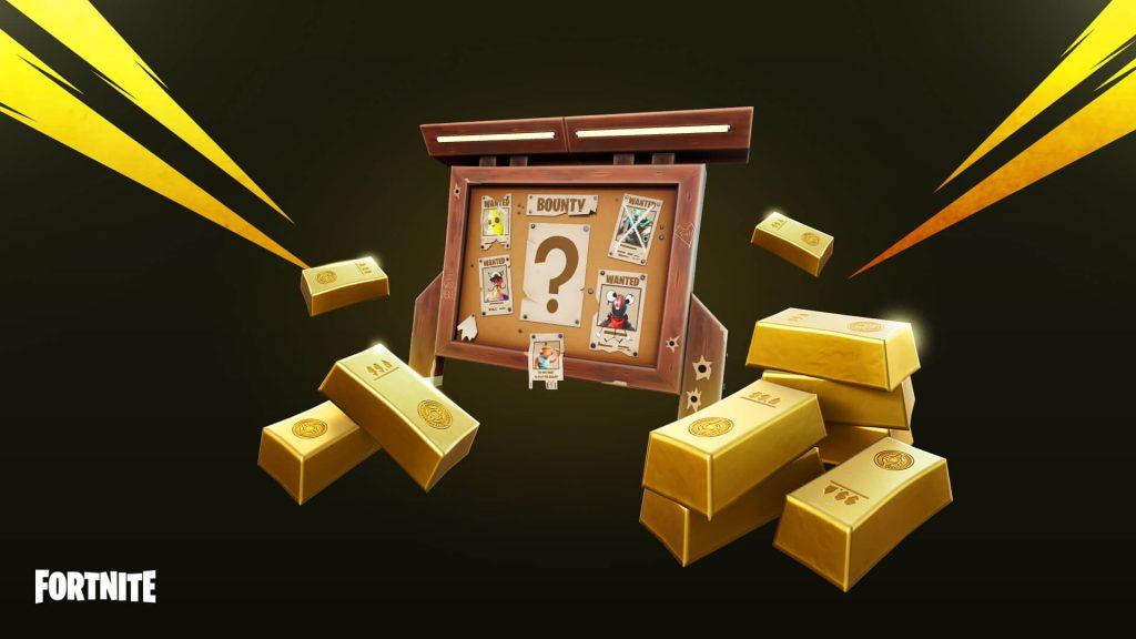 fortnite goldbarren kopfgeld titel