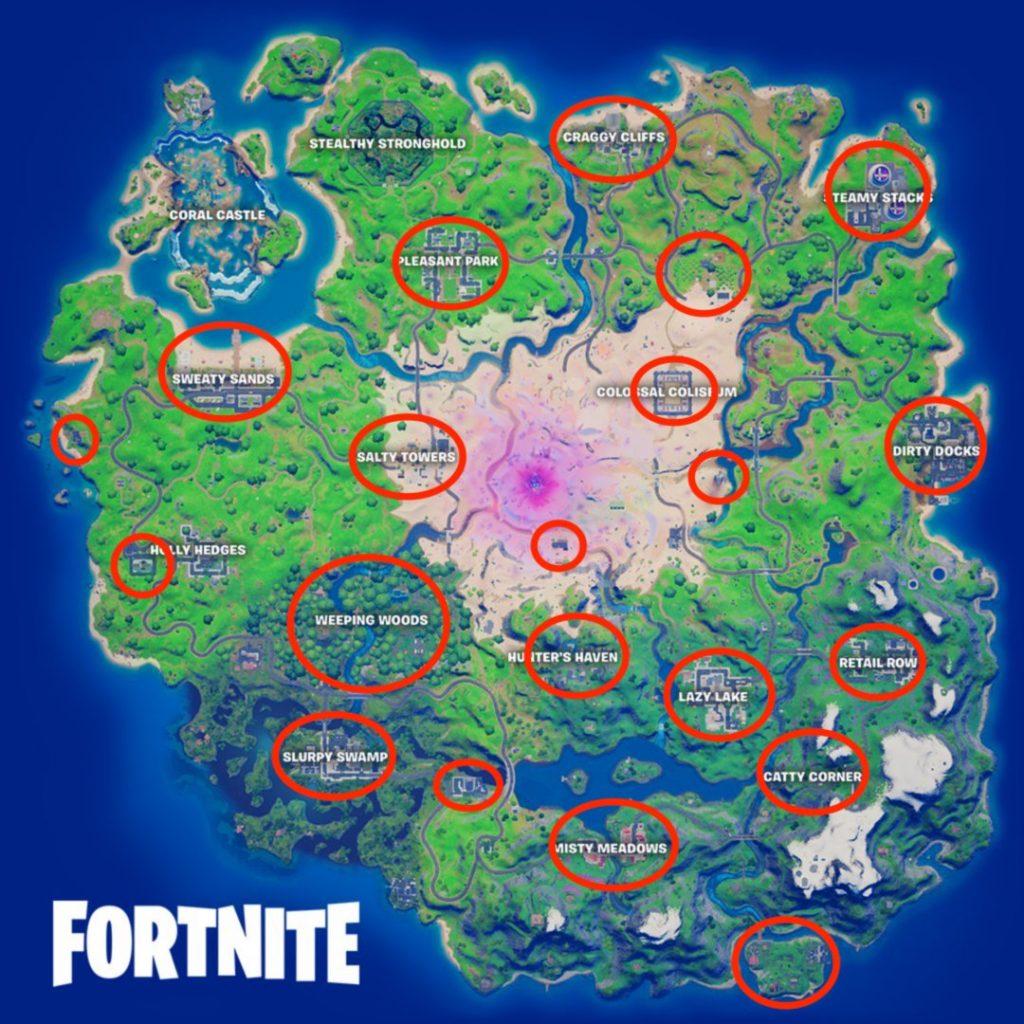 fortnite season 5 map Kopfgeld