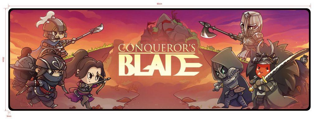 conquerors blade mousepad design 2