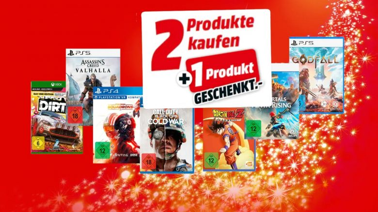 3-für-2-Aktion mit Spielen für PC, PS5 & Co. nur noch kurz bei MediaMarkt