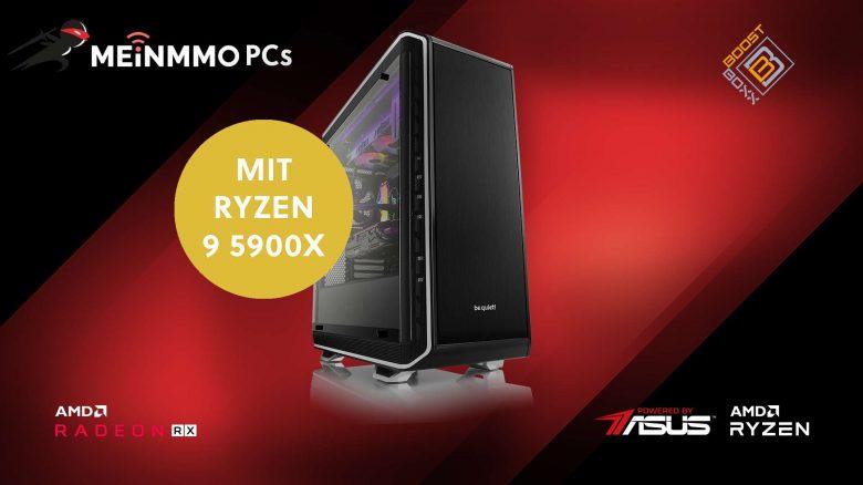 Gaming-PC mit brachialer Leistung & Ryzen 9 CPU jetzt verfügbar
