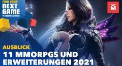 11 Gründe, warum sich MMORPG-Fans auf 2021 freuen können