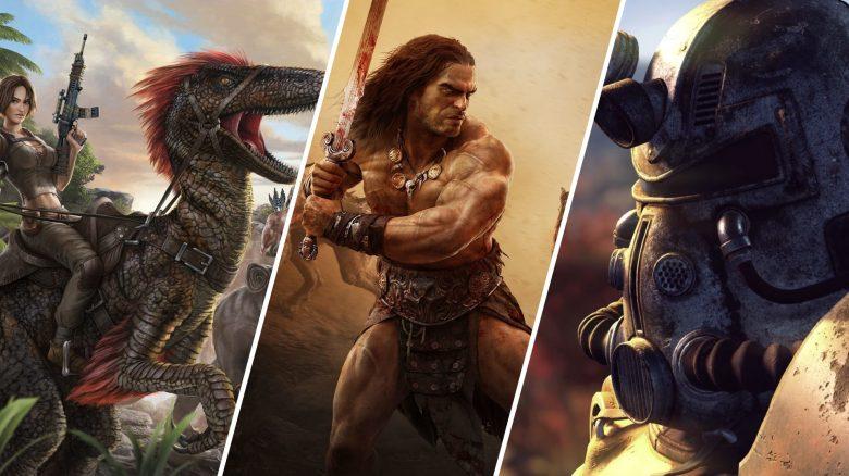 Beste Survival Games Titel COnan Fallout Ark