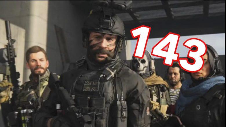 CoD Warzone Rekord 143