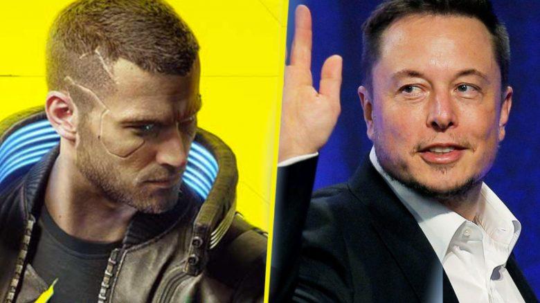 Cyberpunk Elon Musk