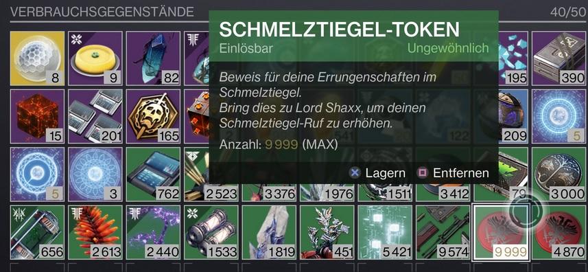 Token Destiny 2