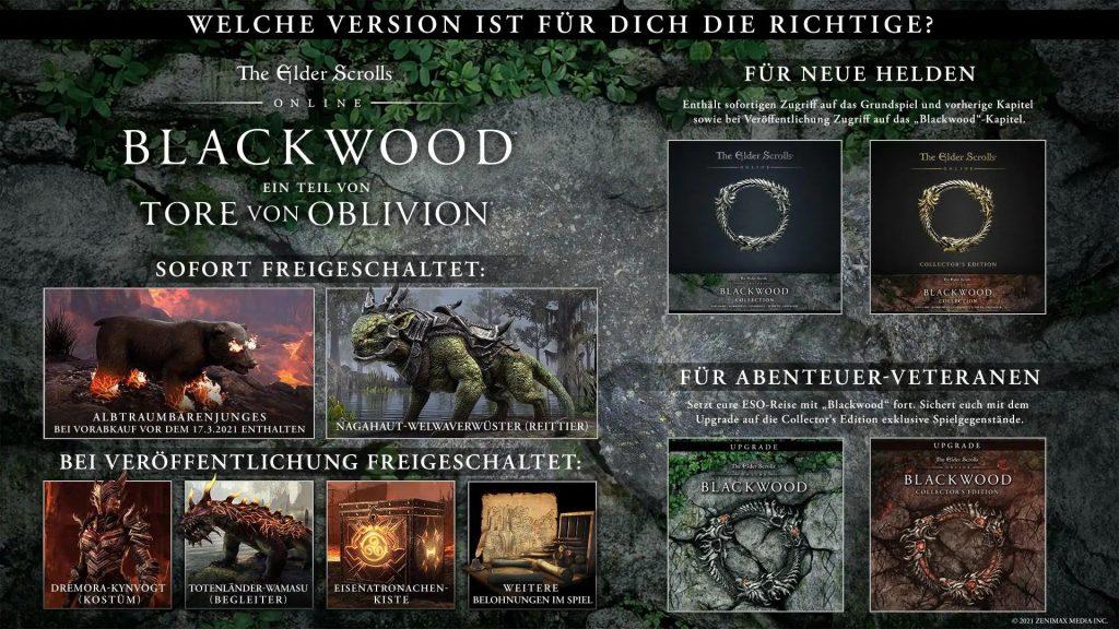 ESO Blackwood vorbestellen