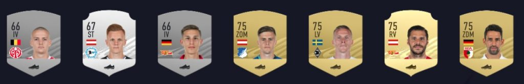 FIFA 21 Bundesliga Bank