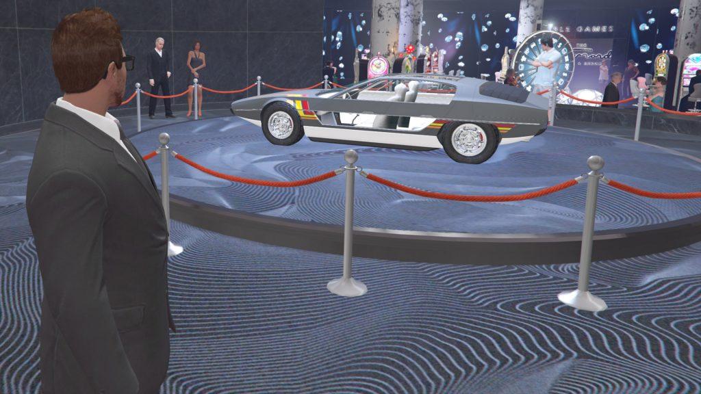 GTA Online Casino Podium Toreador