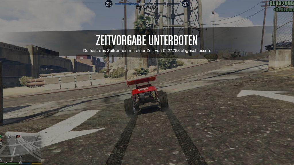 GTA Online RC Bandito Cypress Ziel