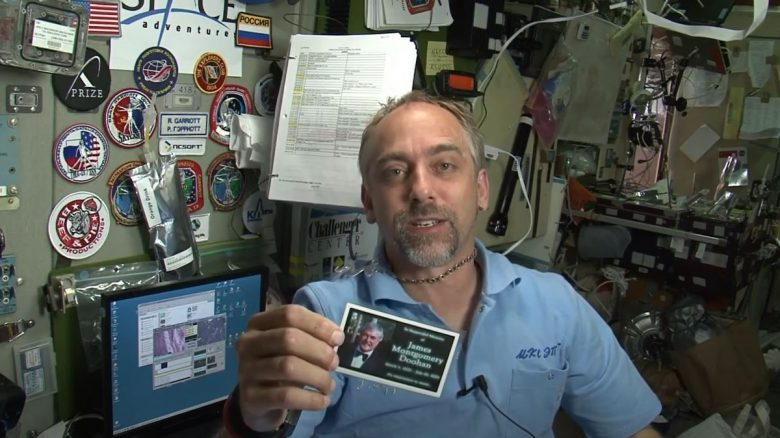 MMO-Legende schmuggelte Asche von Star-Trek-Held auf die Raumstation ISS