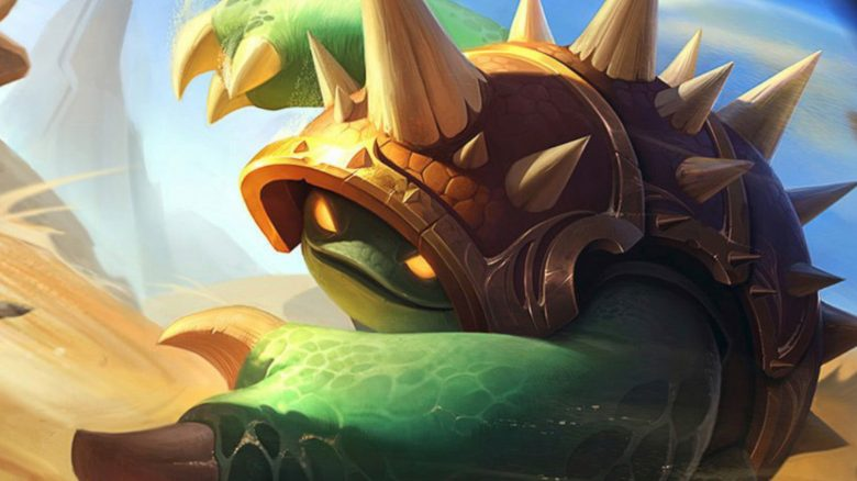 League of legends Rammus
