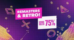 PS Store: Viele coole Retro-Hits und Remaster für PS4 um bis zu 75% reduziert