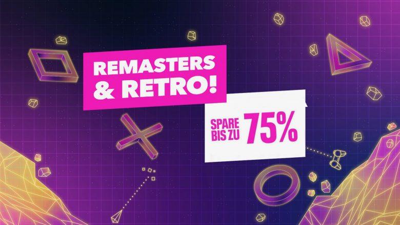 PS Store: Krallt euch jetzt Retro-Hits und Remaster für PS4 bis zu 75% günstiger