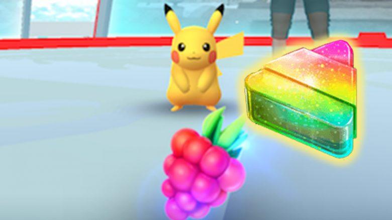 Pokémon GO Beere Füttern Arena Titel