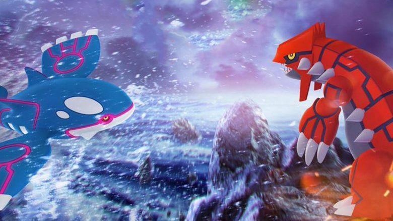 Pokémon GO Groudon Kyogre Titel