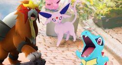 Pokémon GO Johto Entei Titel