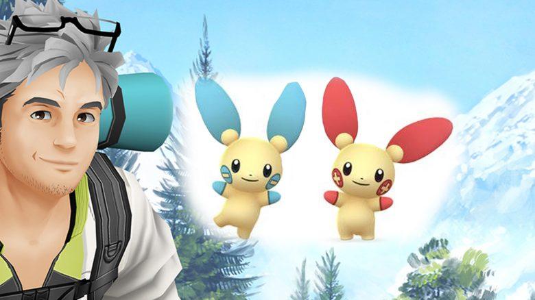 Pokémon GO Minun Plusle Titel