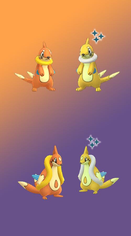 Pokémon GO Shiny Bamelin Bojelin
