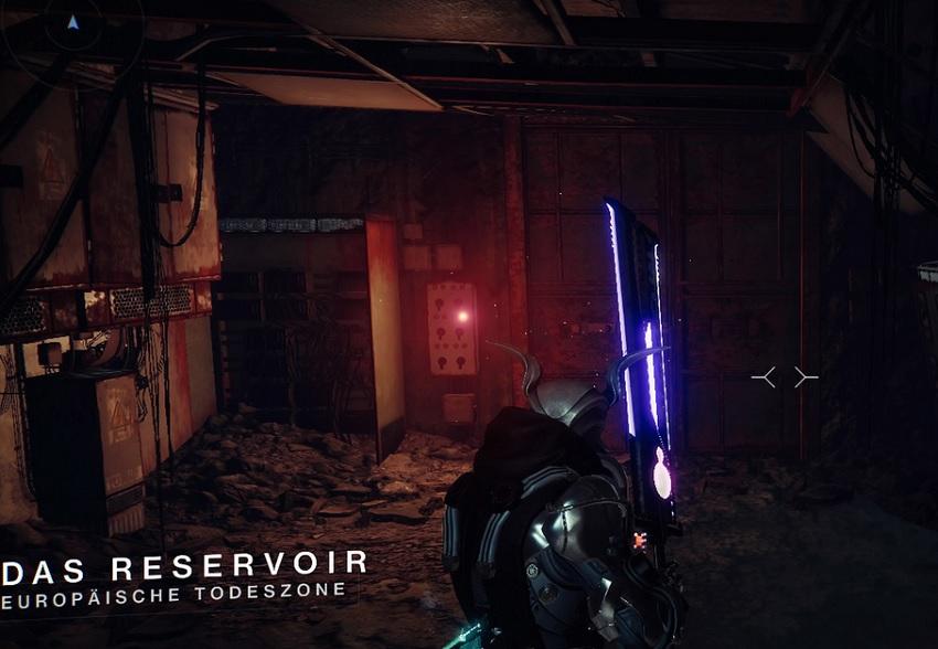 Reservoir Tür Geheimgang ETZ Destiny 2