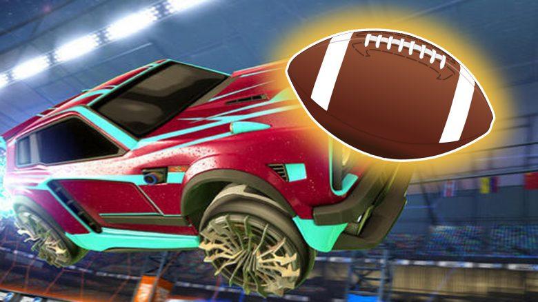 Neuer Modus zum Super Bowl: Bald könnt ihr in Rocket League auch Football spielen