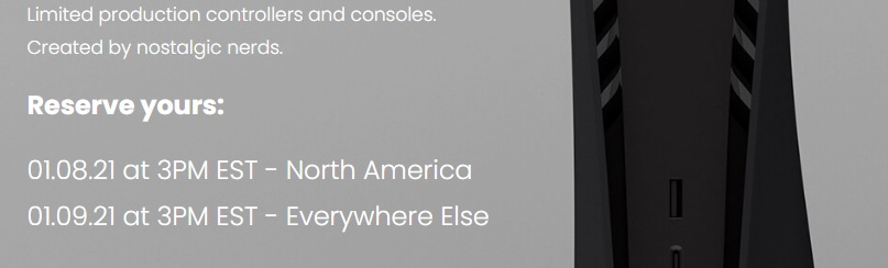 Schwarze PS5 Verkaufszeit